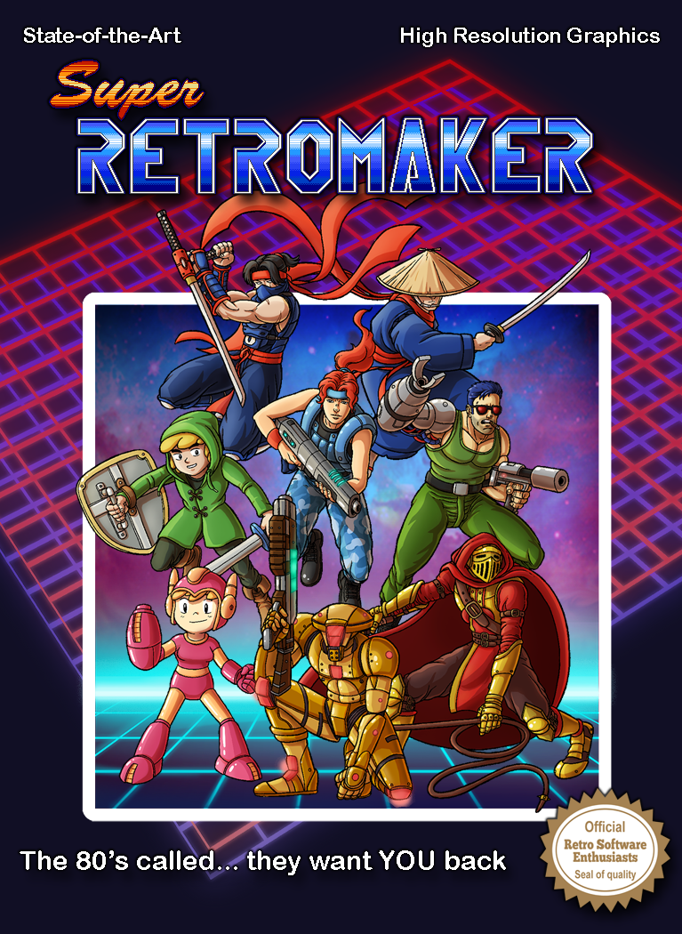 Super Retro Maker - The 80's called... they want you back!
